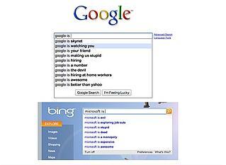 encontrar talento google bing
