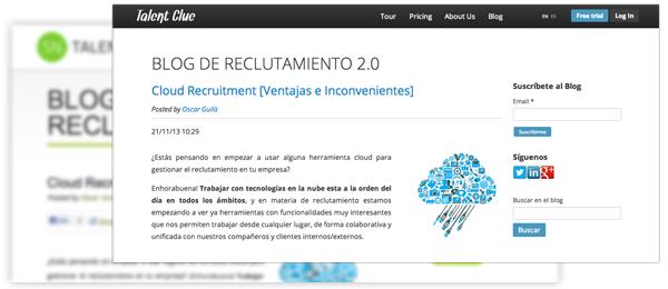 Migramos el Blog de Reclutamiento 2.0 a Talent Clue