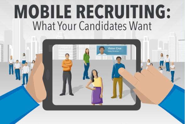 Mobile Recruiting: Lo Que Tus Candidatos Quieren [Infografía]