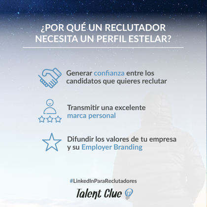 Twittea esto :¿Por qué un reclutador necesita un perfil estelar?