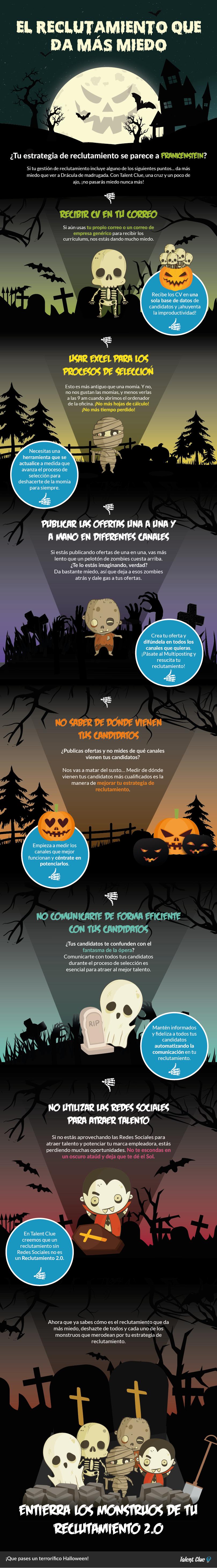 Especial Halloween Talent Clue - El reclutamiento que da más miedo