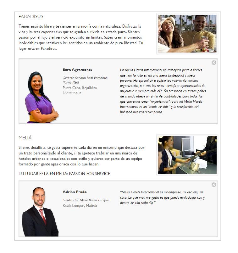 página empleo hoteles