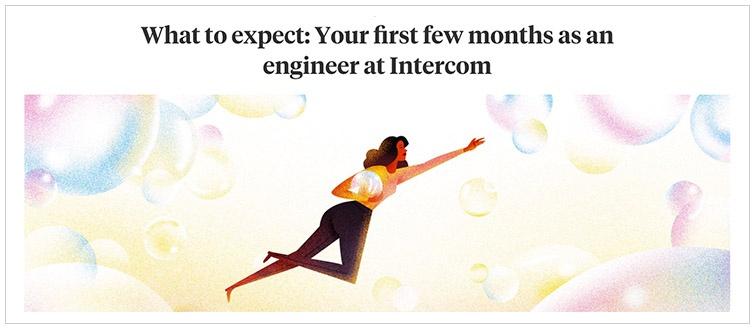 intercom estrategia de contenidos reclutamiento