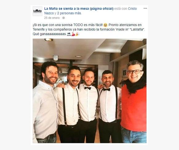 La Mafia se sienta a la mesa Employer Branding en redes sociales