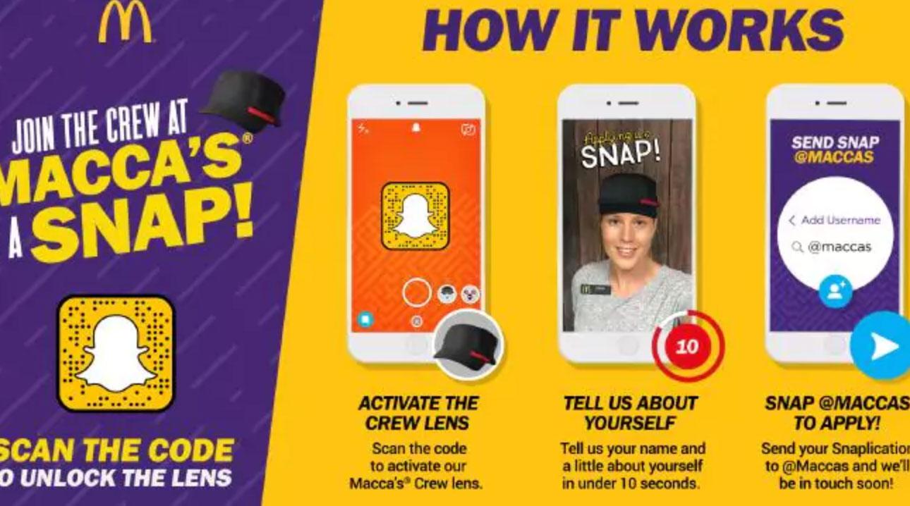 mcdonalds_snapchat_application