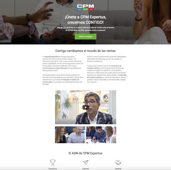 pagina de empleo cpm expertus