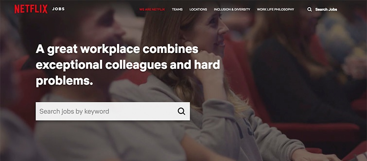 employee value proposition ejemplo netflix