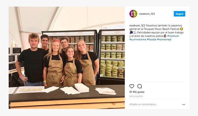 Nostrum Employer Branding en Instagram
